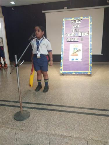 Show & Tell Competition Grade II-III