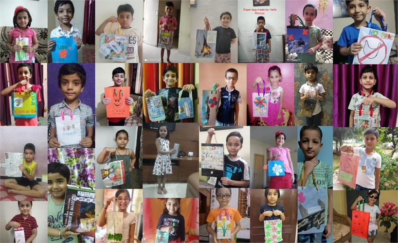 HINDI  ART AND CRAFT ACTIVITY- CLASS I (25 August 2020)