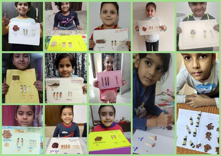 A BUNDLE OF TENS- A HANDS ON MATH ACTIVITY- CLASS I (10 NOV 2020)