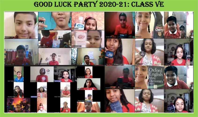 GOOD LUCK PARTY-CLASS V - 15 MARCH 2021