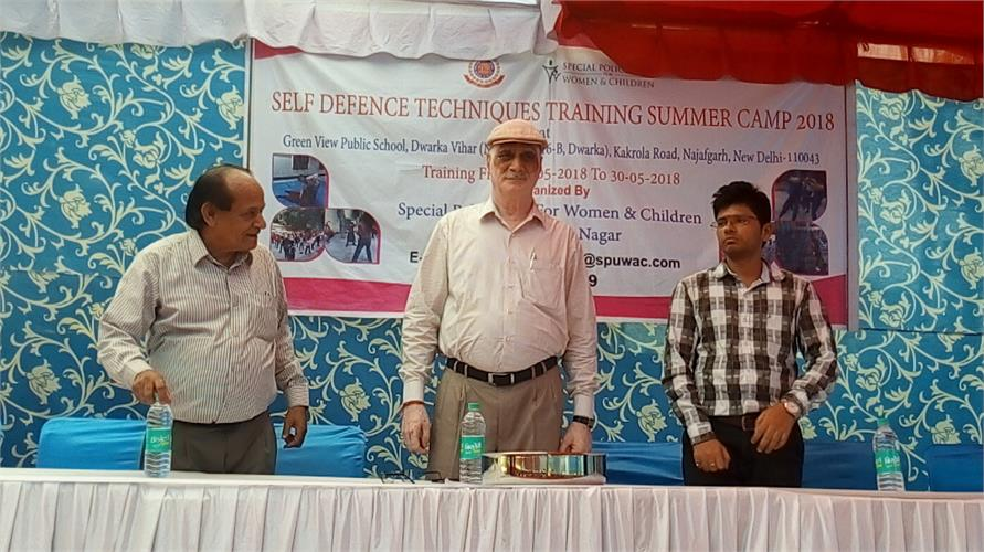 SELF DEFENCE TECHNIQUES TRAINING SUMMER CAMP 2018
