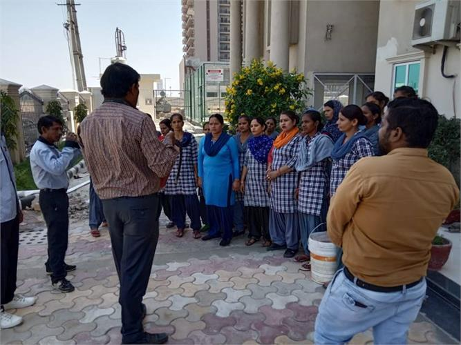 Fire safety workshop for Facility Staff