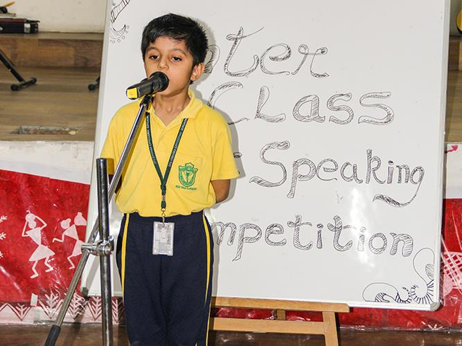 Inter-grade Public Speaking Competition
