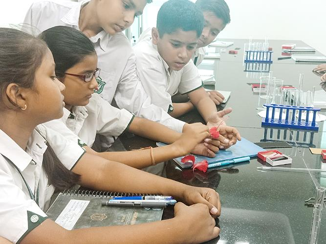 Science Lab - Igniting the curiosity about the wonder`s of science