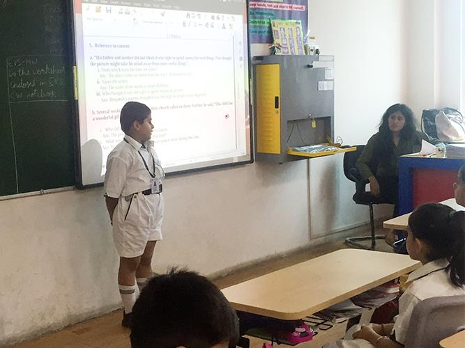 Spell Bee Competition at DPS Dwarka Expressway