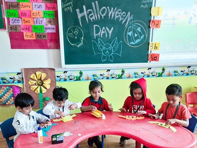 Halloween celebration for Pre Primary graders
