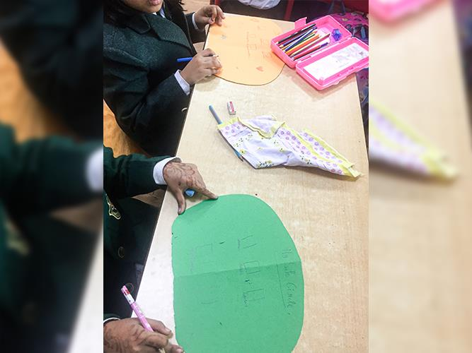 Good touch Bad touch- Safe Circle Activity