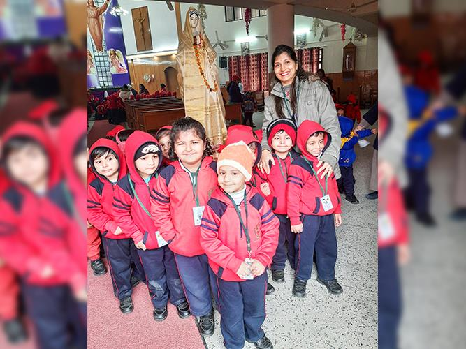 Church Visit- Pre primary Dipsites