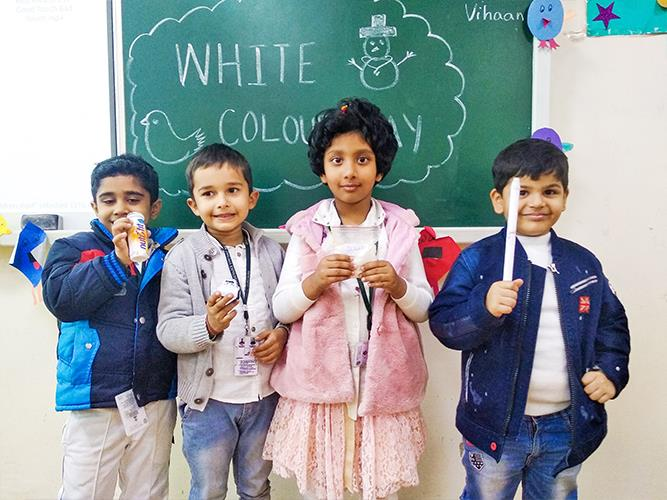 White Colour Day- Pre Primary