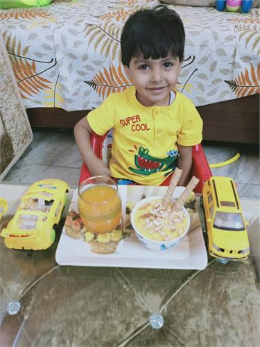 Yellow Colour Day Celebration-Nursery-2021-22