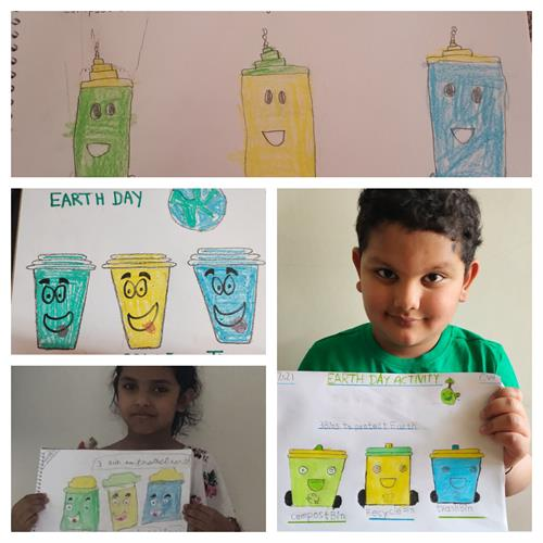 Earth Day Celebration-Garde-I & II-2021-22