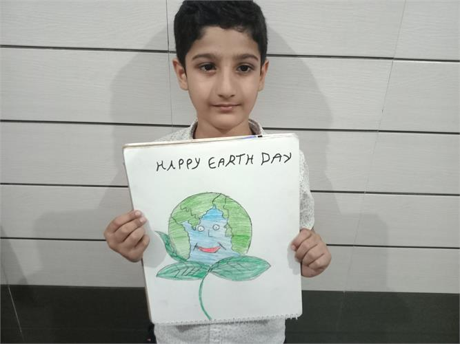 Earth Day Celebration-Grade-III-V-2021-22