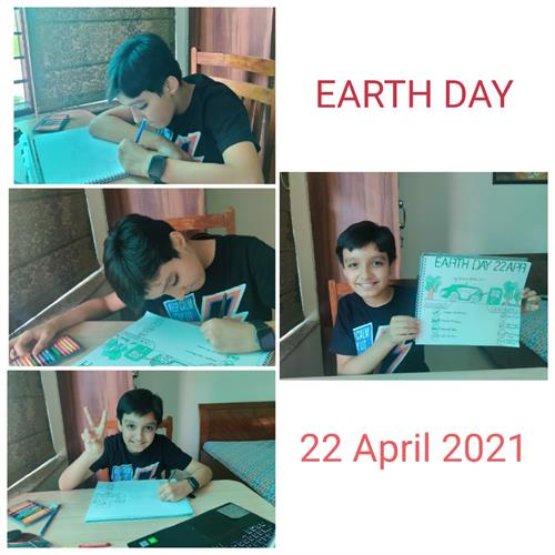 Earth Day Celebration-2021-22-Grade-6-10