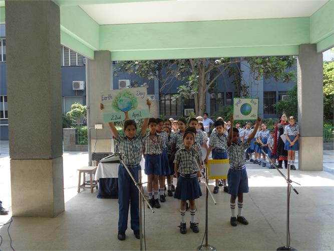 Earth Day Spl. Assembly(Primary Wing)
