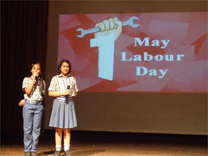 Labour Day Spl. Assembly( Pr. Wing)