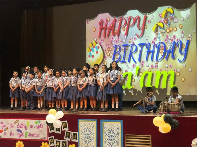Director`s Birthday(Spl. Assembly) Primary Wing