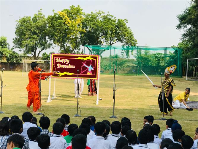 Special Assembly for Dussehra and Gandhi Jayanti