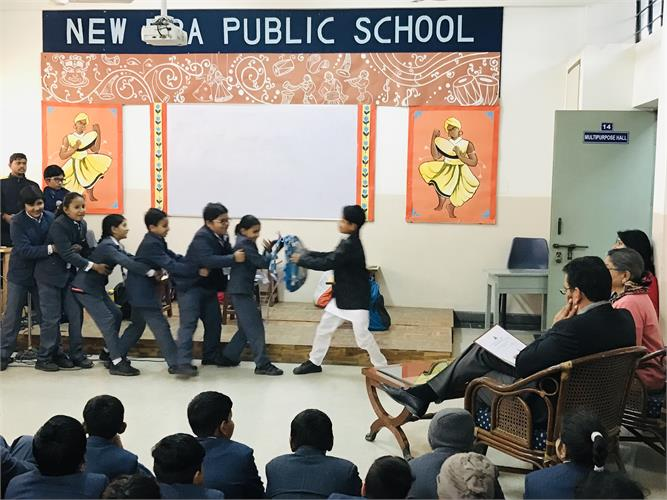 Inter-House Competition on Humanity