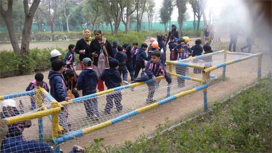 Adventure Camp for Classes LKG to VIII