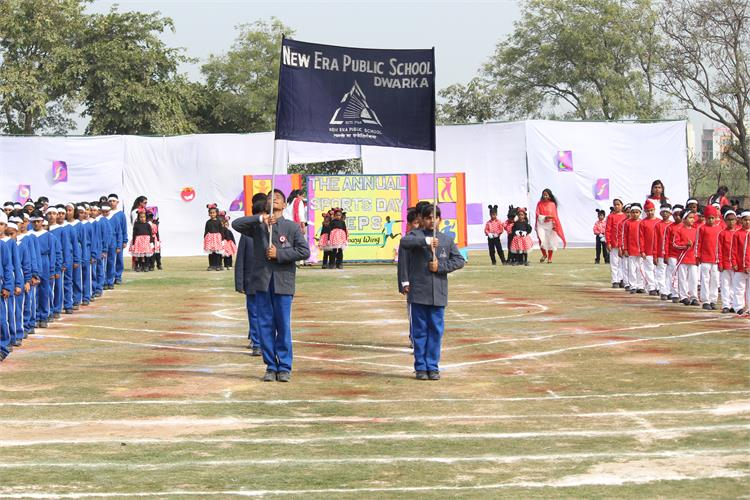 Annual Sports Day (Classes I To V)