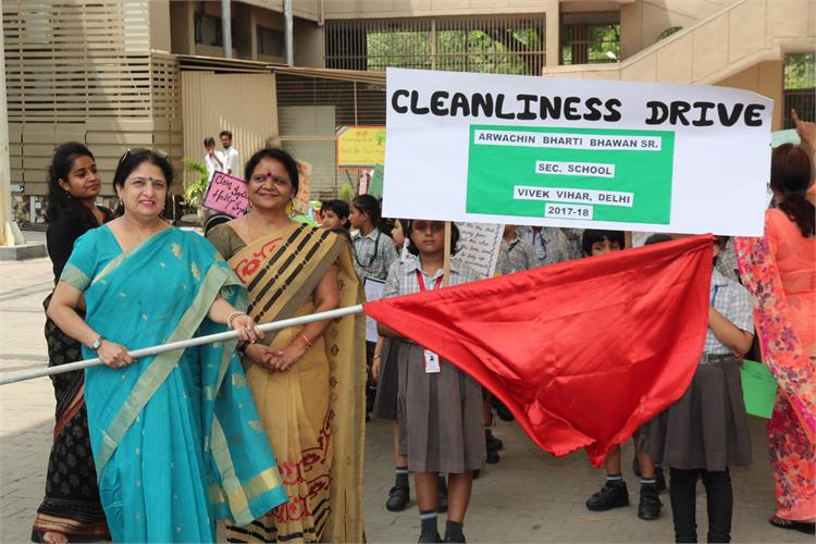 Cleanliness Drive 2017-18