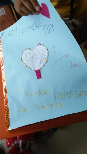 Card making for Mothers