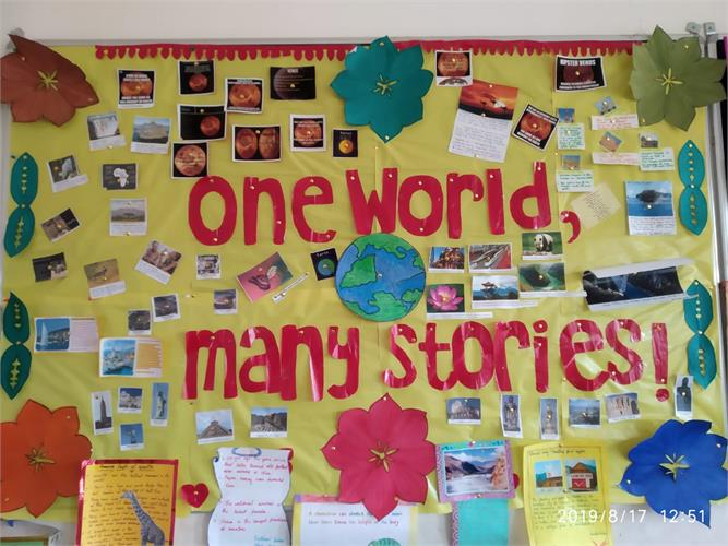 amazing Facts of the world,class board