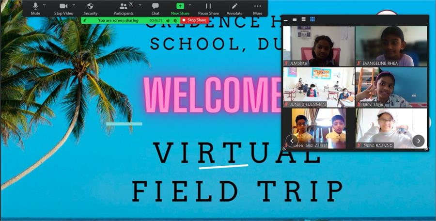 Virtual Field Trip Apr 2021