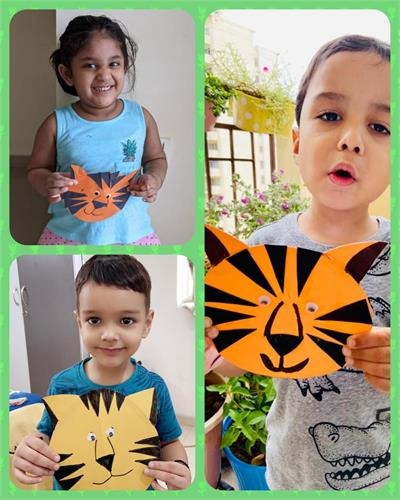 International Tiger Day , Pre Primary wing