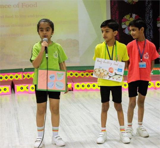 Assembly Presentation By Grade II Gulmohar on INDIA & ITS STORIES