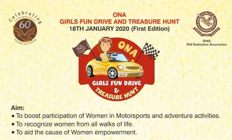 In a first of its kind, PPS witnesses Old Nabhaites Girls Fun Drive and Treasure Hunt  !