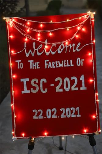 Class-XI bids farewell to ISC Batch-2021