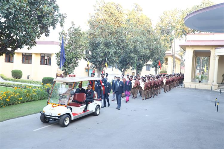 Brig Narendra Singh presides over Passing Out Ceremony