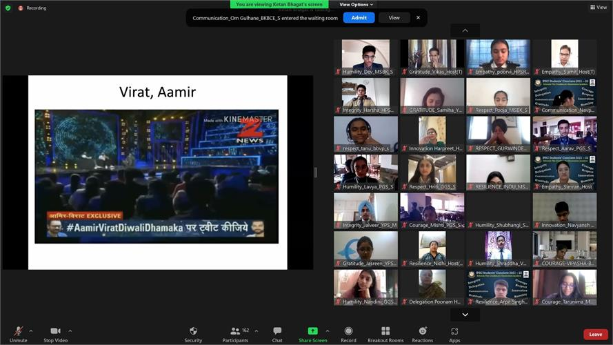 Online IPSC Students' Conclave (Day-2)