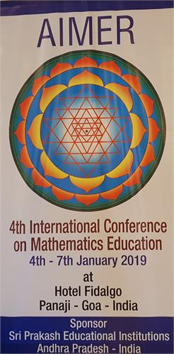 4th International Conference on Mathematics Education 2019