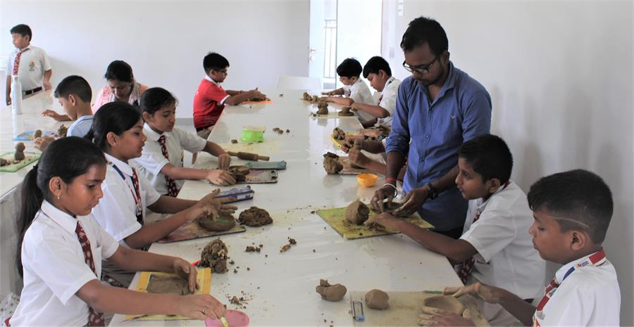 Summer Vacation Sculpture Workshop