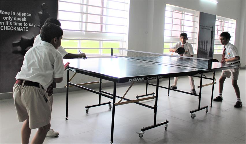 Table Tennis Training Camp