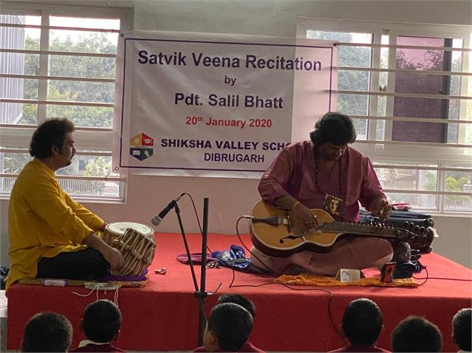 Satvik Veena Recitation By Pdt. Salil Bhatt on 20th January 2020