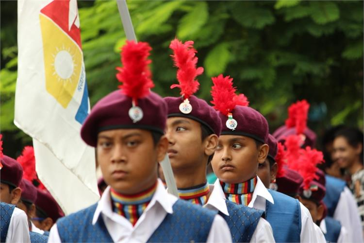72nd INDEPENDENCE DAY MARCH PAST