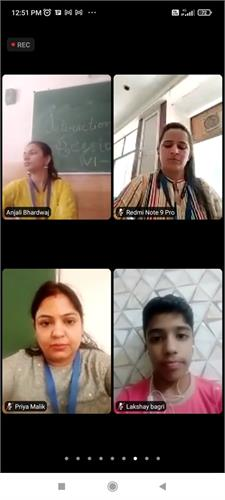 Students Interaction Session with Teachers