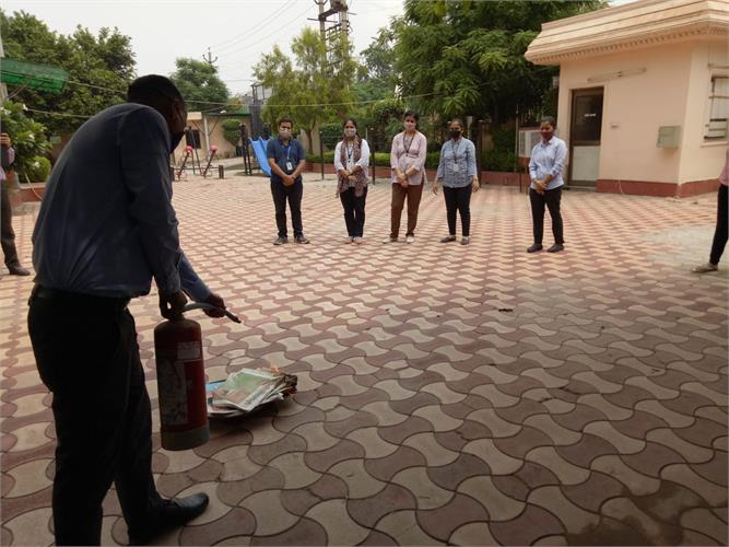 Fire Safety Mock-drill