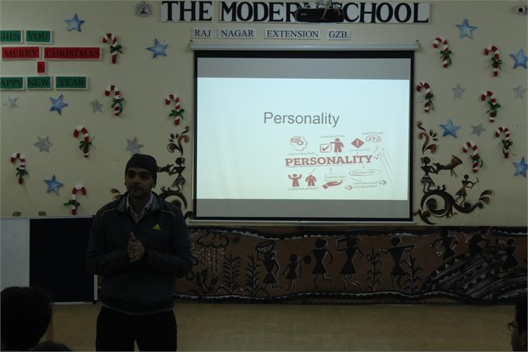 Workshop on Personality Development for classes S1- S3