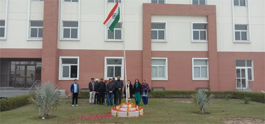 Republic Day Celebration : 26.1.2021