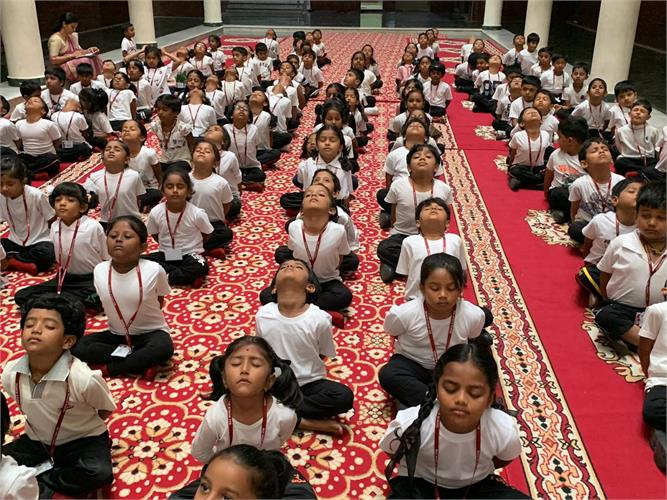 Yoga Day activities