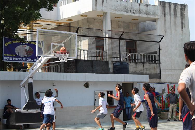 Zonal Basket ball Tournament 18-19