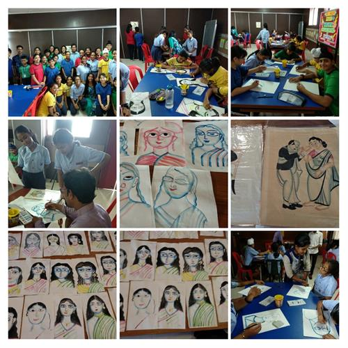 Spic Macay Kalighat Painting workshop 20 to 22 August 2019