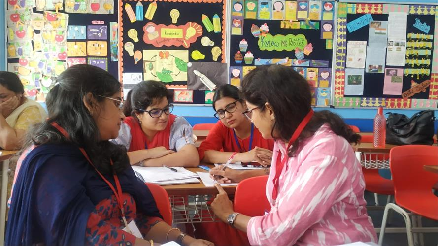 Flipped Classroom Workshop for English, Maths and Science for Class VI to X