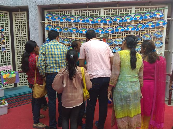 Art Exhibition and Parent Teacher meeting on 12th October 2019