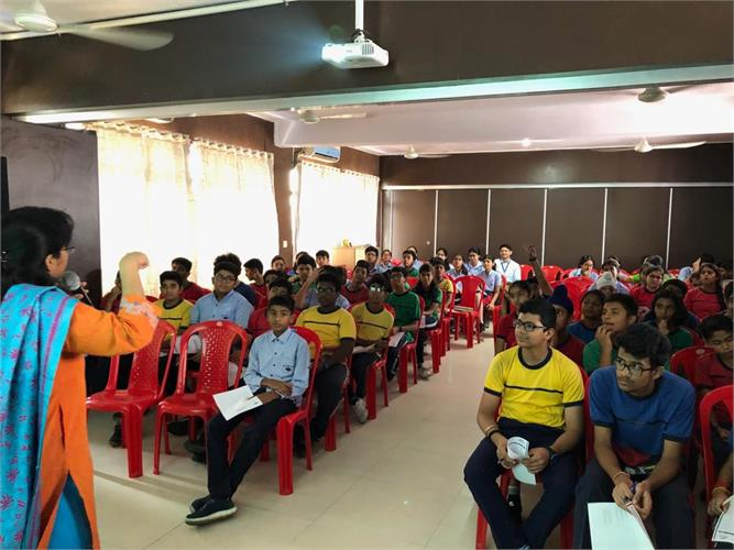 Career Counselling Session for Std. VIII on 14th October 2019