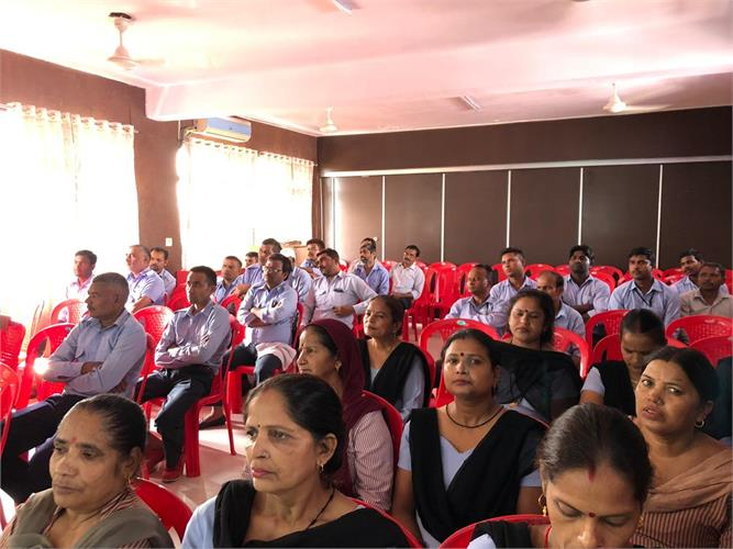 Workshop - No to Tobacco on 19th October 2019